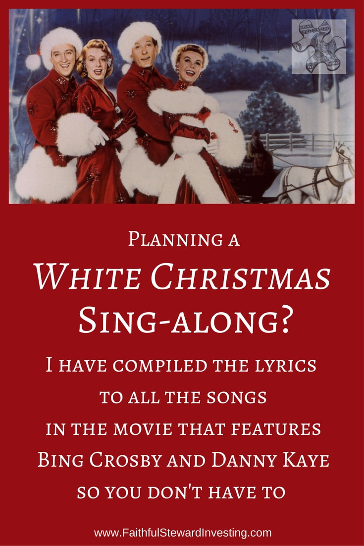 White Christmas Lyrics.White Christmas Sing Along Pdf Faithfulstewardinvesting